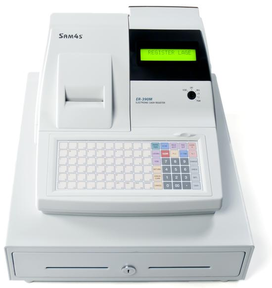 Kasseapparat Sam4s ER-390