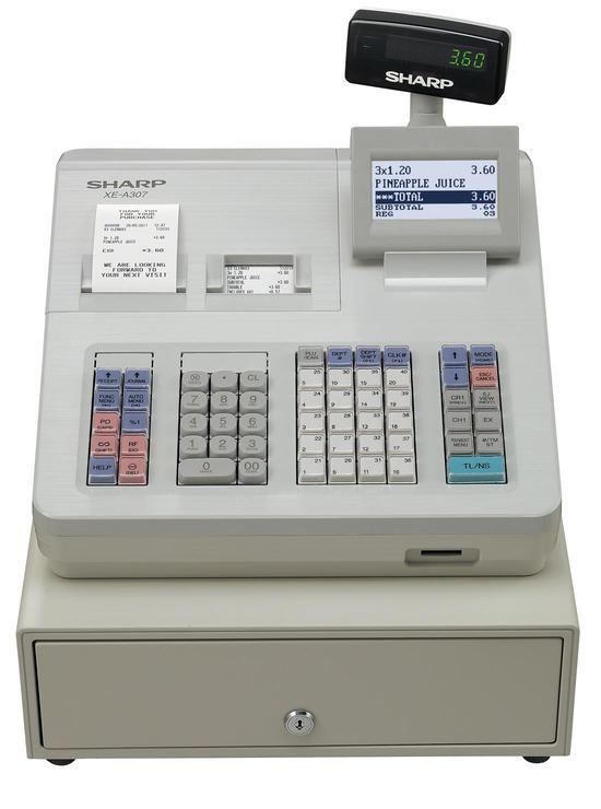Kassaapparat Sharp EX-A307