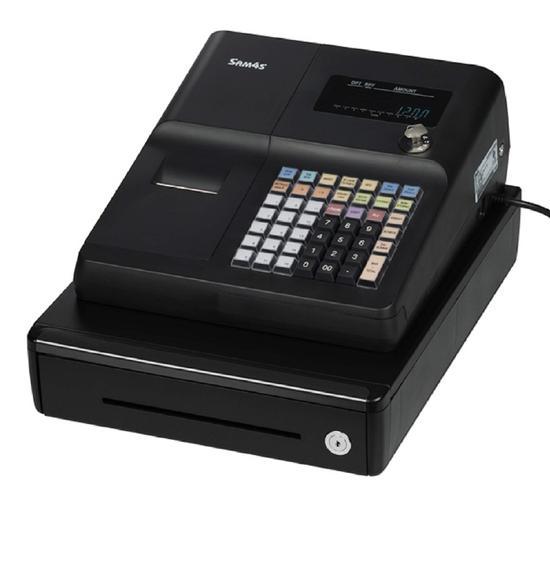 Sam4s ER-260 Enkelt og funksjonelt kasseapparat.