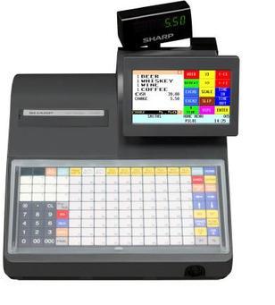 SHARP KASSESYSTEM UP-800 SERIEN - kombinert TOUCH skjerm & tastatur
